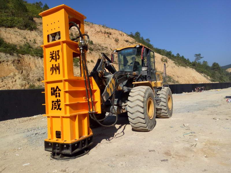 湖北省十堰经镇坪至巫溪高速公路鲍峡至溢水段液压夯实机施工案例